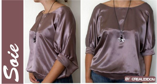 Blouse Patrones Paul & Joe N°268