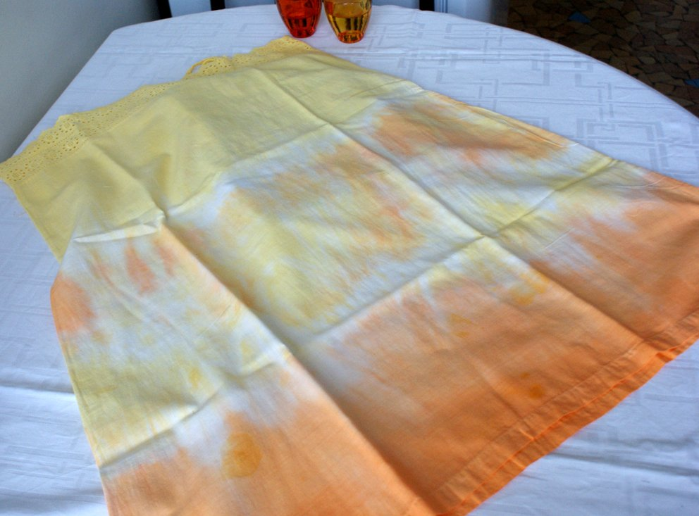 Concours Ideal.fr et Marie Claire Idées - crealididom - essai tie  and dye - crealididom